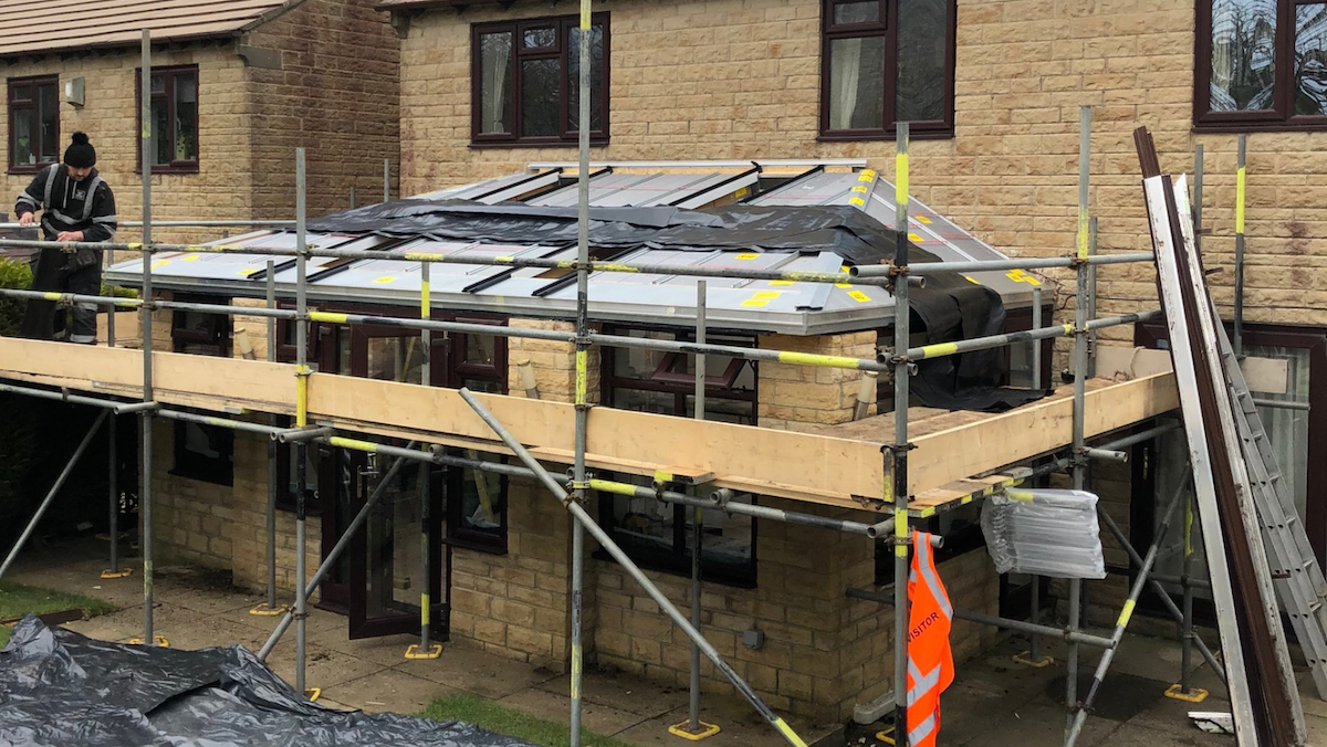 Conservatory Roof Replacement Wilsden 2