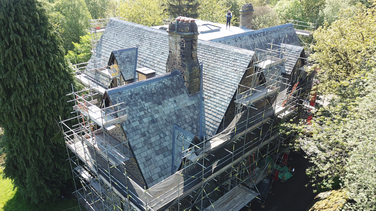 Mayfield House Heritage Roofing
